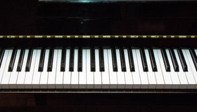 Piano keyboard 2 Royalty Free Stock Image