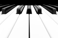 Piano Keyboard. Wide angle shot of Piano Keyboard centred on Ab Close-up of Piano Keyboard with plenty of white space stock images
