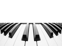 Piano keyboard. Abstract background with a field for text stock photos