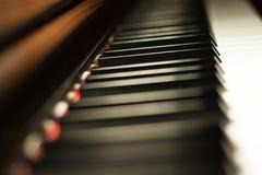 Piano keyboard background Royalty Free Stock Photo