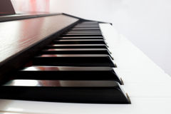 Piano keyboard (black key) Stock Image