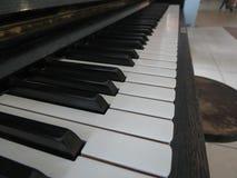 Piano keyboard close up Stock Image