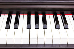 Piano keyboard. Royalty Free Stock Images