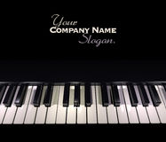 Piano keyboard 2 Royalty Free Stock Photo