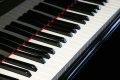 Piano keyboard - horizontal Stock Photos