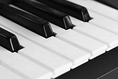 Piano keyboard. Image of a piano keyboard Stock Photos