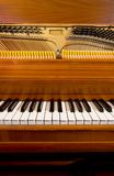Piano Keyboard and Insides Royalty Free Stock Images