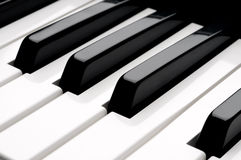 of piano keyboard  keys Royalty Free Stock Photography