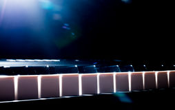 Piano keyboard Stock Image