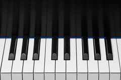 Piano Keyboard Octave Stock Images
