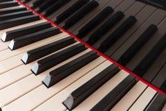 Piano keyboard  - piano keys Stock Images