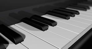 A piano keyboard Stock Image
