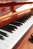 The piano keyboard stock photography