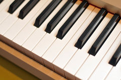 Piano keybord Stock Photography
