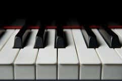 Piano Keyes Close-up Stock Image