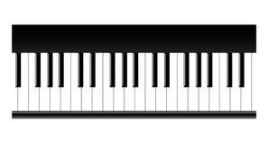 Piano keys. A  illustration Royalty Free Stock Photography