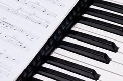 Piano Keys Royalty Free Stock Photo