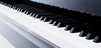 Piano Keys Stock Photography