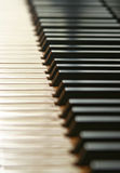Piano Keys. With a small depth of field Royalty Free Stock Image