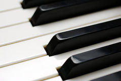 Piano keys. Royalty Free Stock Images
