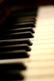 Piano keys. Closeup Royalty Free Stock Photos