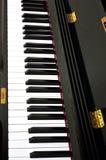 Piano keys background Royalty Free Stock Photos