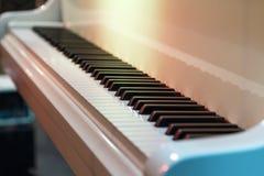 Piano keys . Stock Photos