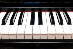 Piano Keys Closeup Royalty Free Stock Images