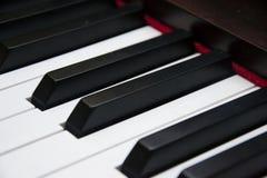 Piano keys. Color piano keys, art, music Stock Photography