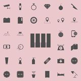 Piano keys icon. Detailed set of  Minimalistic  icons. Premium quality graphic design sign. One of the collection icons for websit. Es, web design, mobile app on Stock Photo