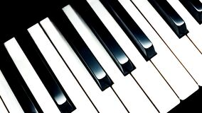Piano Keys Illustration Royalty Free Stock Image