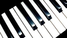 Piano Keys Illustration royalty free stock image