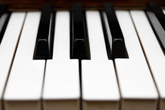 Piano Keys Musical Instrument Royalty Free Stock Images
