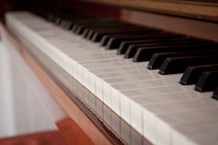 Piano keys Stock Photo