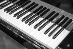 Piano keys Royalty Free Stock Photo