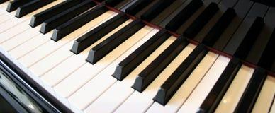 Piano keys reflection. Piano keys with crisp reflection Stock Image
