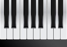 Piano keys. Seamless vector illustration. Stock Photos