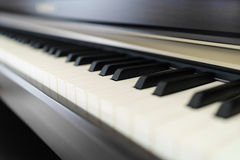 Piano keys Royalty Free Stock Photos