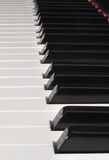 Piano Keys Vertical Royalty Free Stock Photo