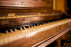 Piano - Kylemore abbey - Connemara & Cong - Ireland Stock Photography