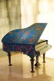 The piano in the lobby of the Hotel Dorsett Shanghai Royalty Free Stock Photography