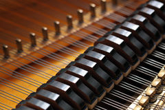 Piano magnífico Fotografía de archivo
