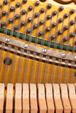 Piano mechanics Royalty Free Stock Photos