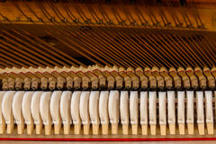 Piano mechanism Royalty Free Stock Images