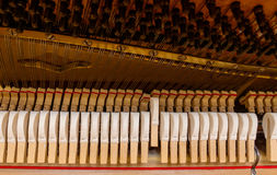 Piano mechanism Stock Image