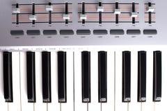 Piano midi Royalty Free Stock Photo