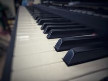 Piano muito velho foto de stock royalty free
