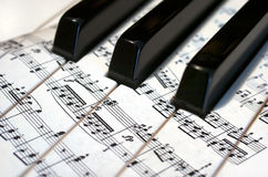 Piano. Music Royalty Free Stock Images