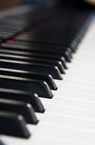 Piano music instrument close-up Stock Photo