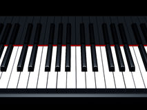 Piano notes Royalty Free Stock Images